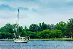 отсутствующий sailing Стоковые Изображения