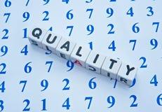Отсчеты качества Стоковые Изображения RF