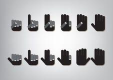 Отсчет пальца Стоковые Изображения RF