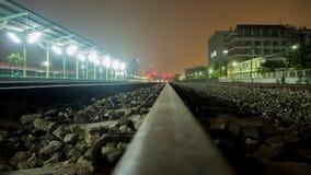 отслеживайте поезд Стоковая Фотография RF