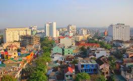 ОТТЕНОК, ВЬЕТНАМ март 2013 - взгляд утра в оттенке, Vitenam Оно очень красивый и мирный Стоковые Изображения