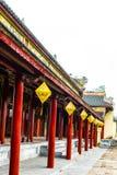 ОТТЕНОК, ВЬЕТНАМ, 28-ое апреля 2018: Имперский королевский дворец династии Nguyen в оттенке, Вьетнам стоковая фотография rf