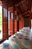оттенок запрещенный дверями Вьетнам города Стоковые Изображения