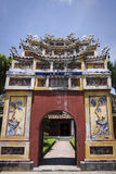 оттенок старый Вьетнам здания стоковое фото rf