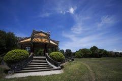 оттенок старый Вьетнам здания стоковые изображения