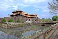 оттенок старый Вьетнам цитадели Стоковое Фото