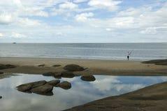 оттенок hin рыболовства стоковое изображение rf