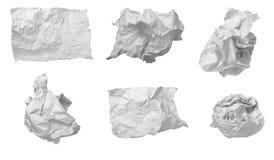 отход бумаги офиса фрустрации шарика Стоковое Фото