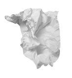 отход бумаги офиса фрустрации шарика Стоковое Изображение RF