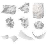 отход бумаги офиса фрустрации шарика Стоковое Изображение