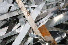 отход металла стоковое изображение