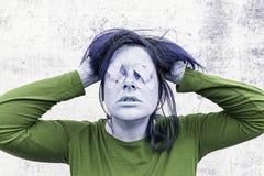 Отчаяние в женщинах стоковые изображения