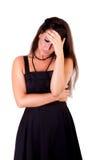 Отчаяние женщины стоковая фотография rf