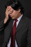 отчаянный человек Стоковое фото RF