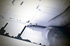 отчет о финансов Стоковые Изображения RF