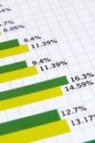 отчет о финансов Стоковая Фотография RF