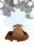 отчет о groundhog дня Бесплатная Иллюстрация