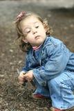 отчужденная девушка стоковое изображение