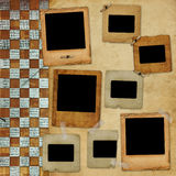 отчуженное фото рамки Стоковое фото RF
