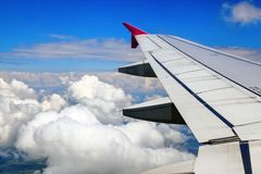От авиапорта взгляд, который нужно подогнать Стоковая Фотография RF