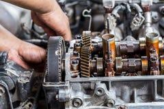 Отладка двигателя Стоковые Фото