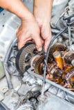 Отладка двигателя Стоковое Изображение RF
