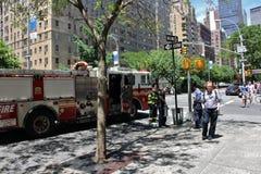 Отделение пожарной охраны Нью-Йорка Стоковые Фотографии RF