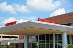 Отделение скорой помощи больницы Стоковое Изображение