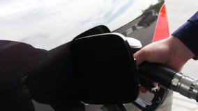Отделка для дозаправляя автомобиля видеоматериал