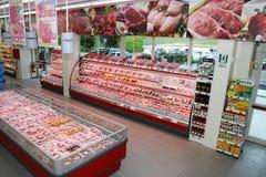 Отдел мяса Стоковое Изображение