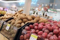 Отдел по изготовлению в супермаркете стоковые изображения rf