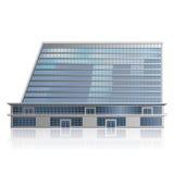 Отдельно стоя офисное здание, цент дела бесплатная иллюстрация