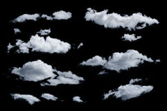 Отдельные облако Стоковое Фото
