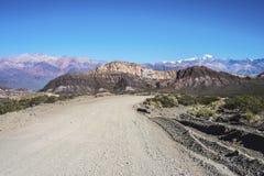 Отдел Las Heras в Mendoza, Аргентине Стоковые Фотографии RF