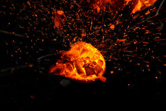Отливка шпаги бронзового века Стоковое Фото