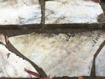 От камня фигурной стрижки кустов надгробной плиты кладбища вымощая, 19 Стоковые Изображения