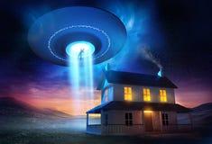 От космического пространства Стоковые Фотографии RF