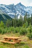 От обочины, парк долины брызга захолустный, Альберта, Канада Стоковая Фотография