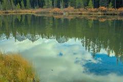 От обочины, парк долины брызга захолустный, Альберта, Канада Стоковые Фотографии RF