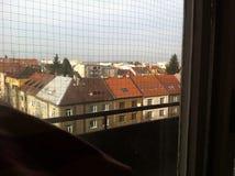 От окна Стоковое Фото