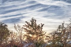 От пика в горе Стоковое Фото