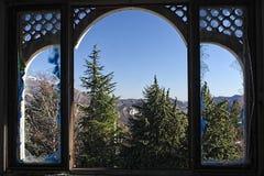 От сломленного окна Стоковая Фотография RF