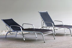 отдыхать стулов Стоковые Изображения