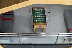Отдых воссоздания игры футбола таблицы футбола Стоковые Фотографии RF
