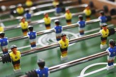 Отдых воссоздания игры футбола таблицы Foosball Стоковое Фото