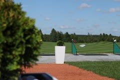 Отдых active гольфа Стоковое фото RF