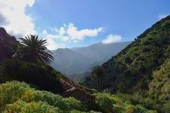 От Vallehermoso к Chorros de Epina стоковое изображение rf