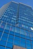 Офисное здание над предпосылкой голубого неба Стоковые Фото