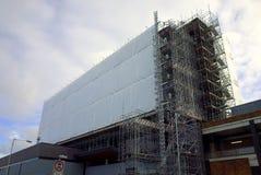 Офисное здание проходя повторную разработку в жилой квартал в Bracknell, Engaland Стоковое фото RF