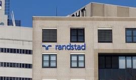 Офисное здание Randstad стоковые фотографии rf